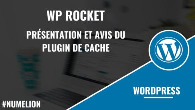 WP Rocket - Plugin de cache sous WordPress