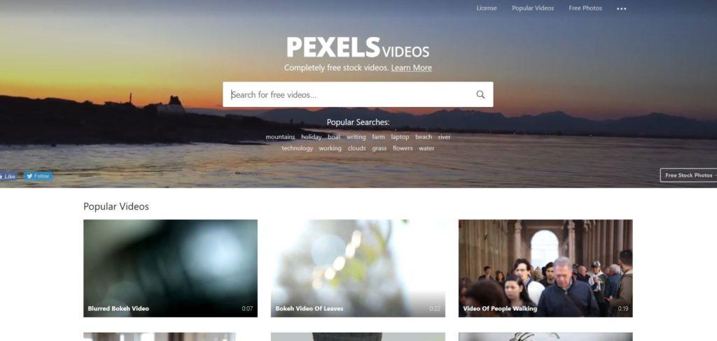 Pexels - Banque de vidéo libre de droits
