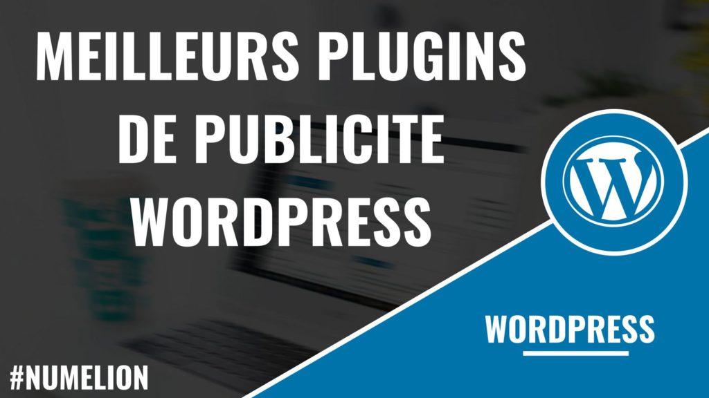 Meilleurs plugins de publicité sous WordPress