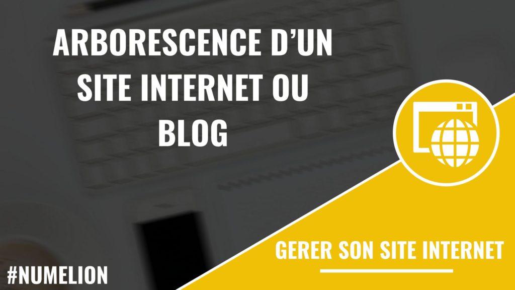 Créer l'arborescence d'un site internet ou blog