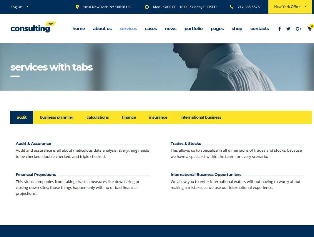 Exemple de site internet