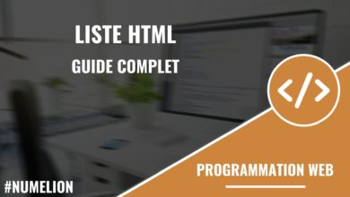 Liste HTML - Guide complet