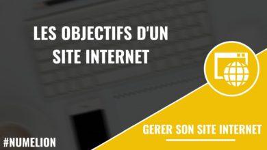 Les objectifs d'un site internet