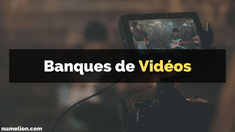 Banques de vidéo gratuites et libres de droits