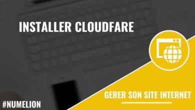 Installer Cloudfare