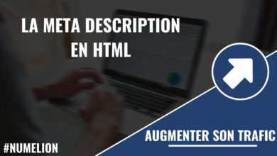 La méta description en HTML