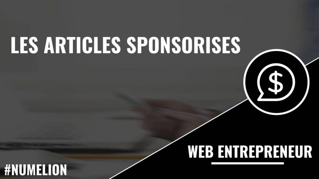 Les articles sponsorisés