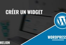 Créer un widget WordPress
