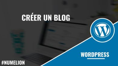 Créer un blog WordPress