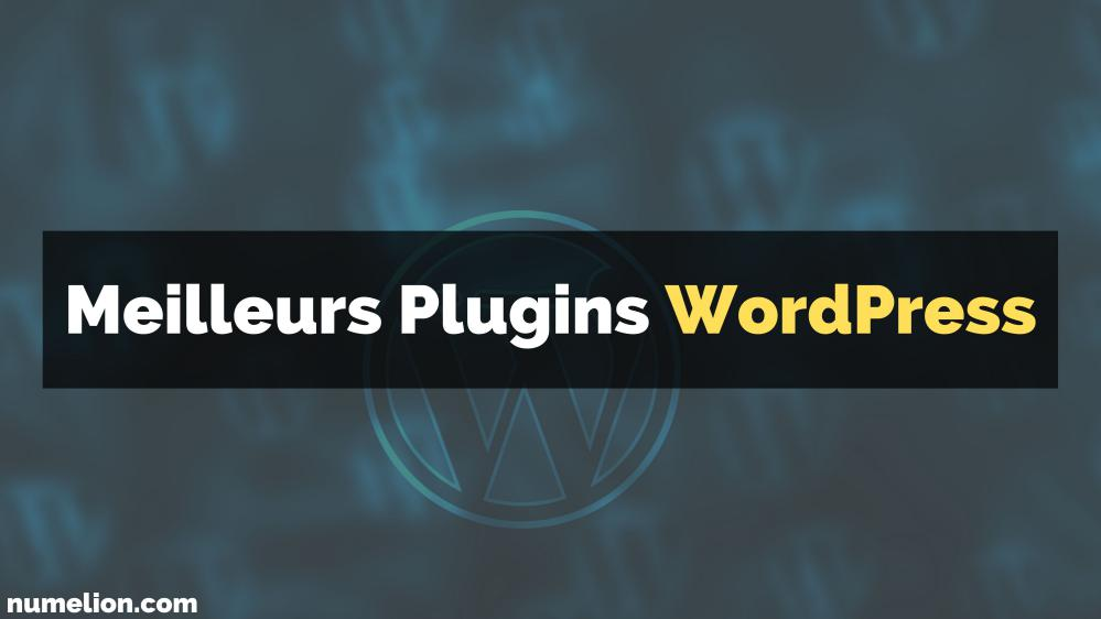 Principaux plugins WordPress