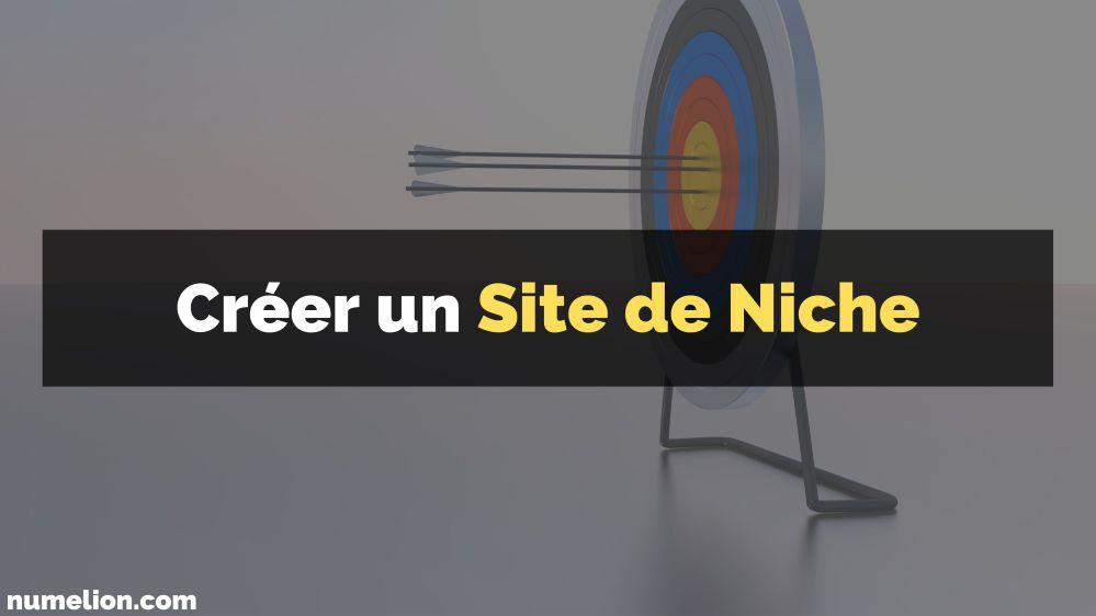 Créer un site de niche