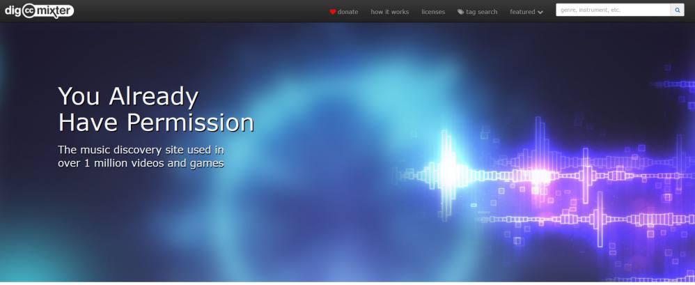 Dig-CC-mixter - Trouver un Musique gratuite libre de droit