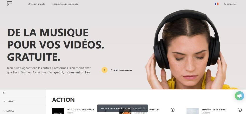 Icon8 - Des musiques libres de droits