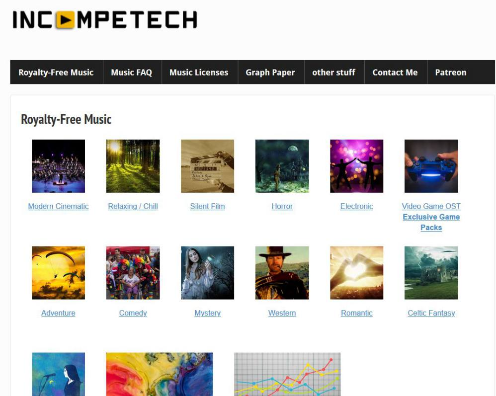 Incompetech - Royalty Free Music