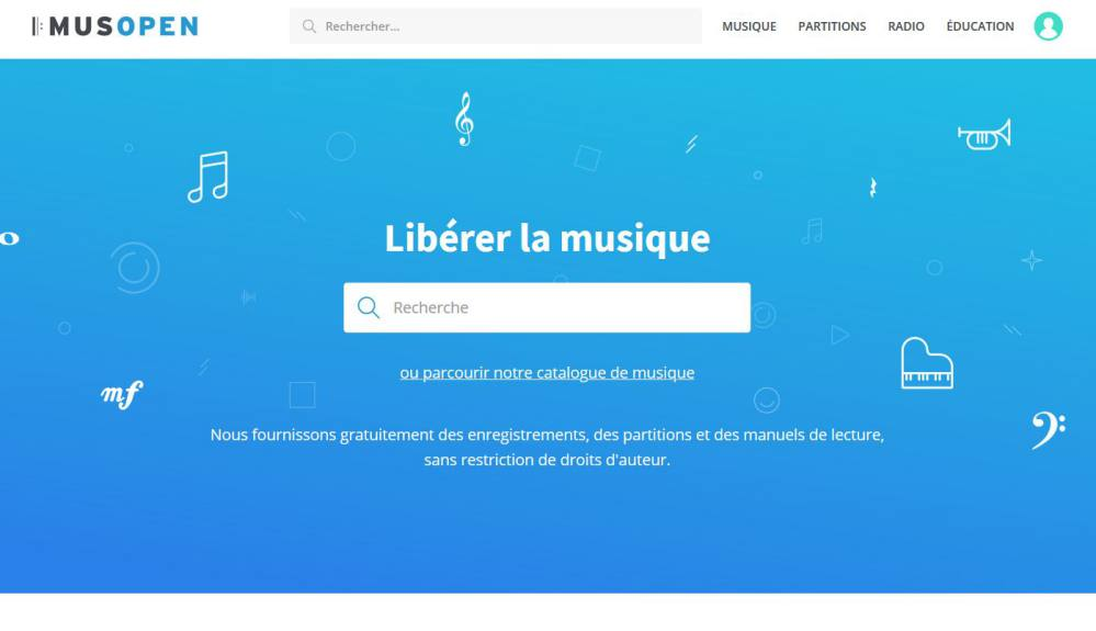 Musopen - Banque de musiques libres de droits