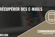 Récupérer des e-mails