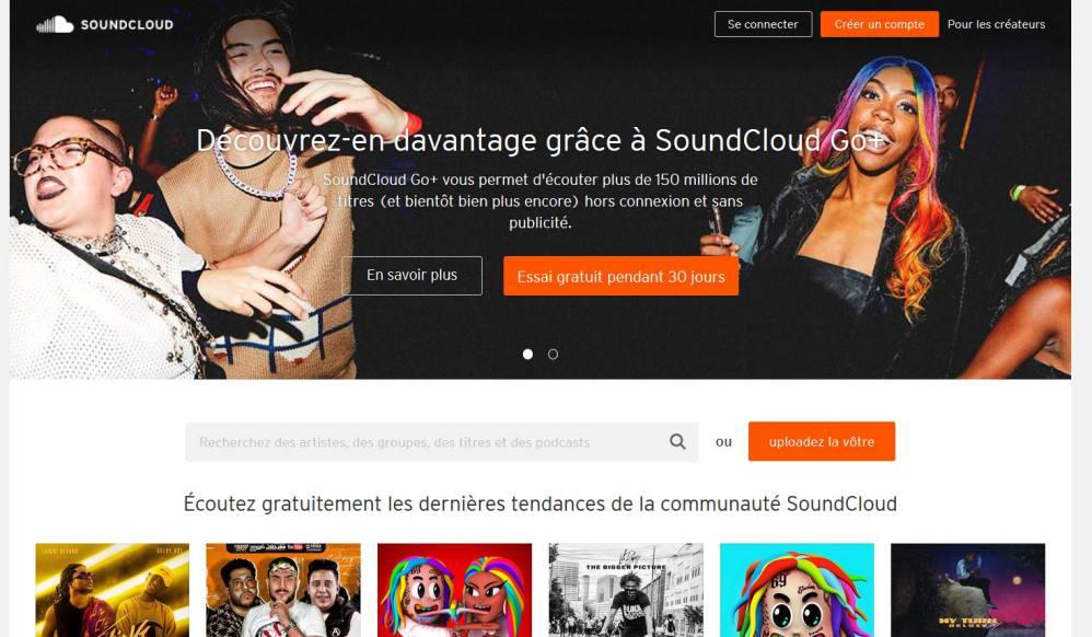 Soundcloud, une plateforme de musiques gratuites et payantes