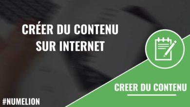 Créer du contenu sur internet - Les grandes catégories
