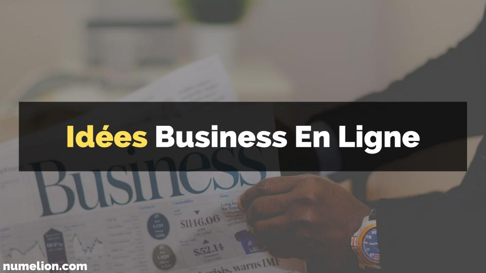 Trouver des idées de business sur internet