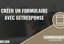 Créer un formulaire avec GetResponse