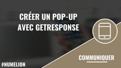 Créer un pop-up avec GetResponse