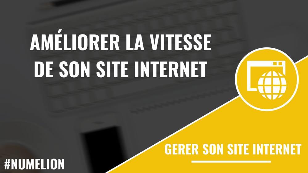 Améliorer la vitesse d'un site internet