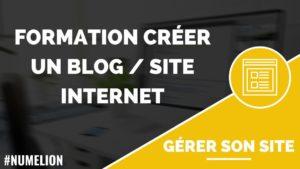 Formation gratuite pour créer un blog / site internet - Fin