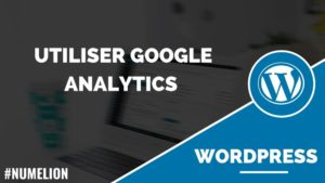 Google Analytics dans WordPress