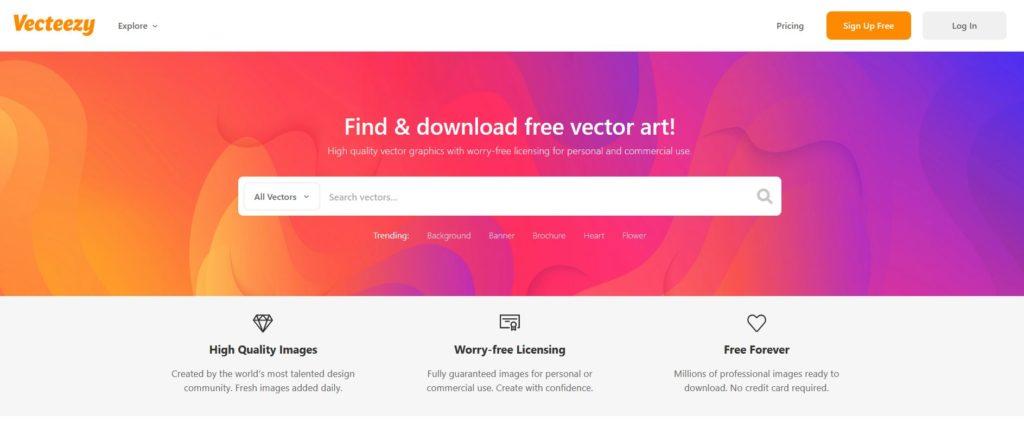 Vecteezy - Images vecteurs gratuites