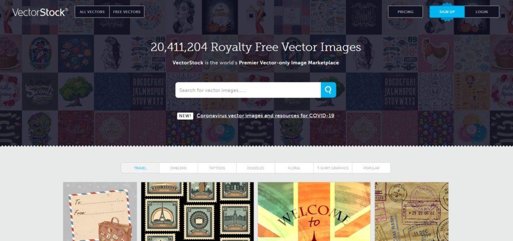 VectorStock - Trouver des vecteurs libres de droits